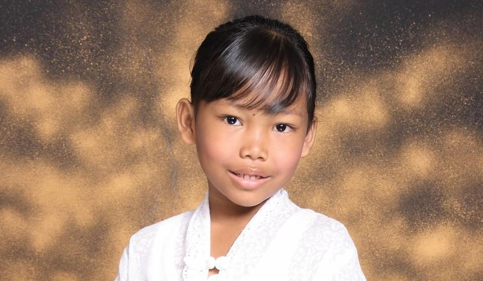 Sefinka at 7 years old